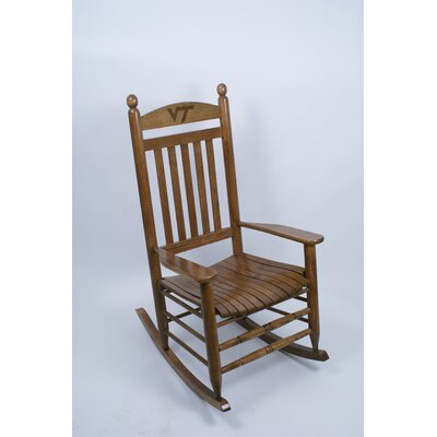 Collegiate Rocking Chair NCAA Team: Virginia Tech image