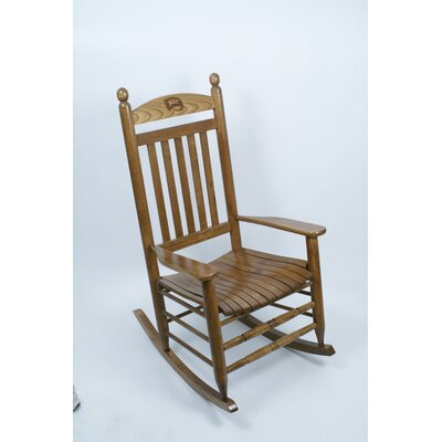 Collegiate Rocking Chair NCAA Team: Western Kentucky University image