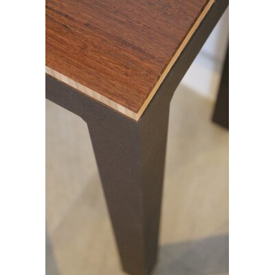 Sustain Dining Table Top Finish: Havana, Frame Finish: Espresso