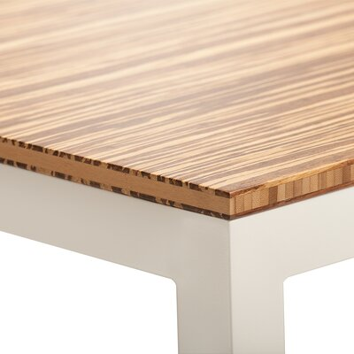 Sustain Bar Table Top Finish: Neopolitan, Base Finish: White