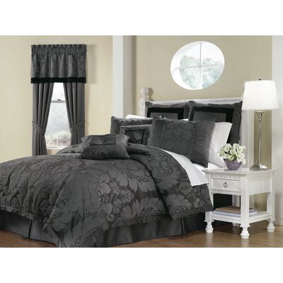 Lorenzo 8 Piece Comforter Set Size: King