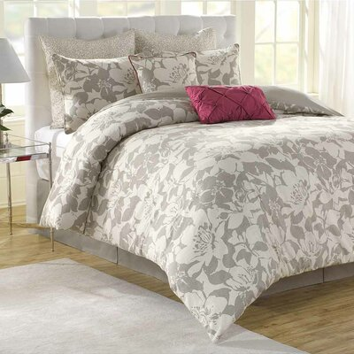 Peony 8 Piece Comforter Set Size: Full / Queen