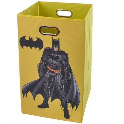 Modern Littles Batman Folding Laundry Basket - Color: Yellow