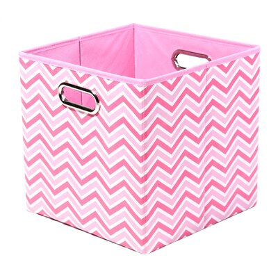 Rose Zig Zag Folding Storage Bin ROSSTOR101
