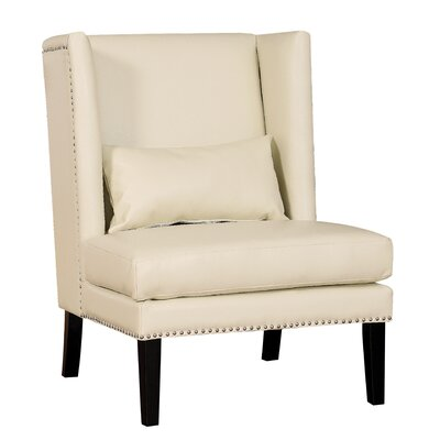 Chelsea Wing Chair Color: Cream
