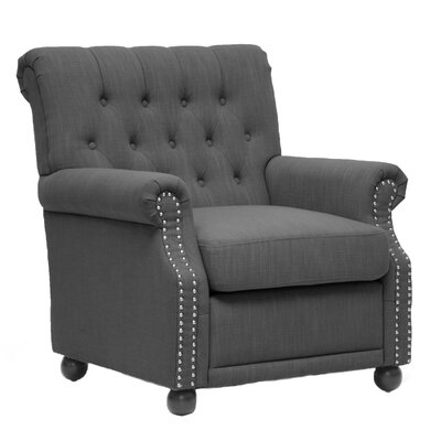 Becket Armchair Color: Grey