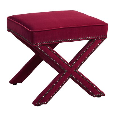 Reese Ottoman Upholstery: Pink