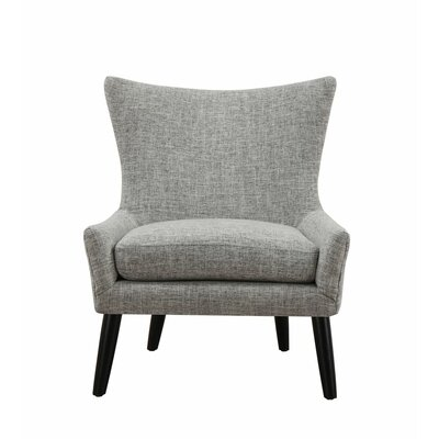 Sullivan Wingback Chair Upholstery: Grey
