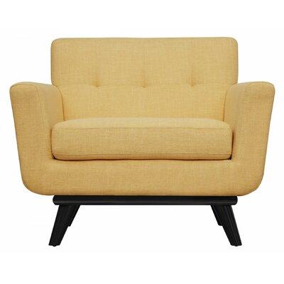 Sullivan Armchair Upholstery: Mustard Yellow