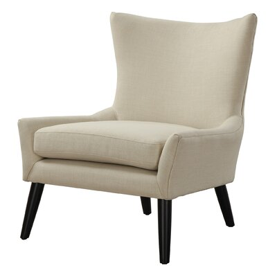 Sullivan Wingback Chair Upholstery: Beige