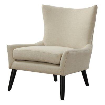 Sullivan Wingback Chair Upholstery: Beige