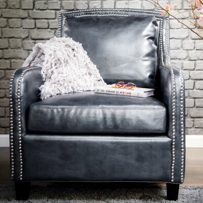 Greenwich Leather Club Chair