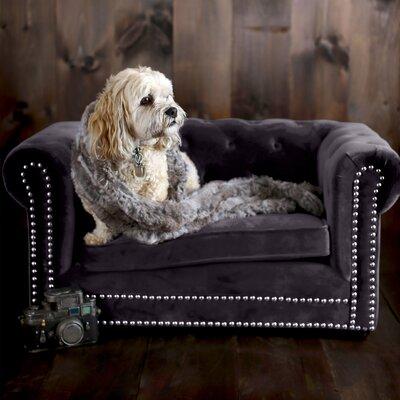 Harding Husky Dog Sofa Color: Gray