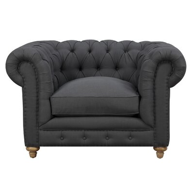 Soho Chesterfield Chair Finish: Grey