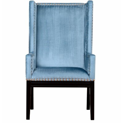 Tribeca Wingback Chair Finish: Blue