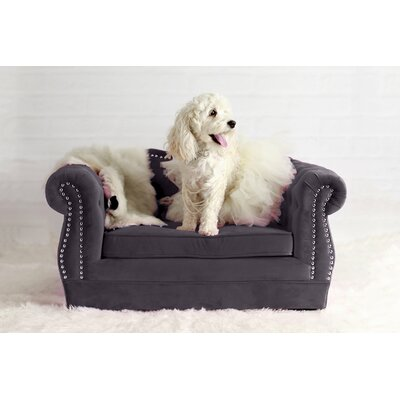 Gwen Yorkshire Dog Sofa Color: Gray