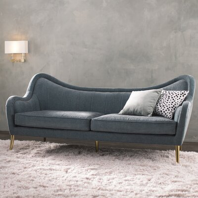Isadora Sofa Upholstery: Grey Sky