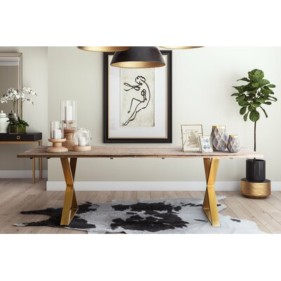 Alvaro 5 Piece Dining Table Set Color: Navy