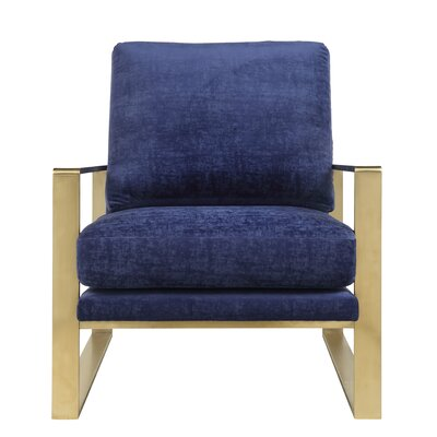 Boswell Velvet Armchair