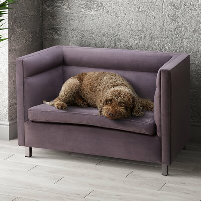 Beagle Dog Sofa Color: Gray