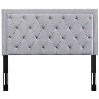 Rowan Upholstered Panel Headbaord Size: 55