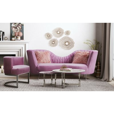 Southwark 2 Piece Living Room Set Upholstery: Blush