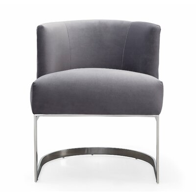 Creeves Barrel Chair Upholstery: Gray