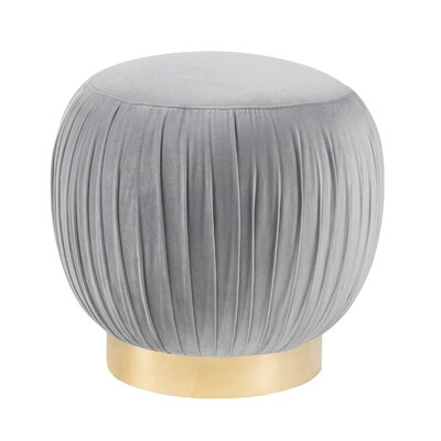 Brynner Pouf Upholstery: Gray
