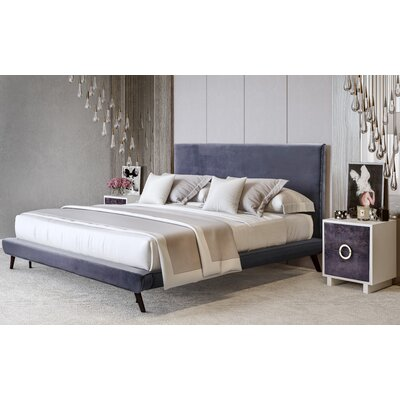Gilbertson Upholstered Platform Bed Size: King
