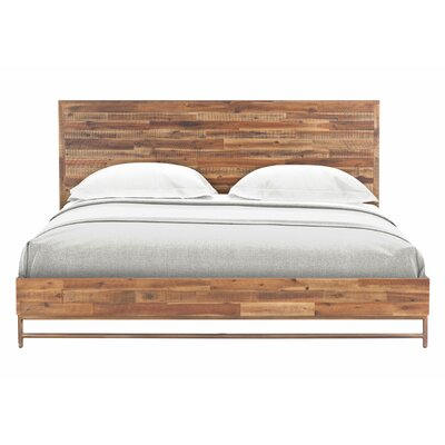 Platform 2 Piece Bedroom Set Size: King