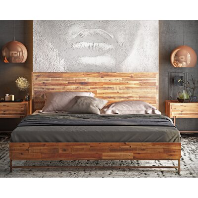 Platform Bed Size: King