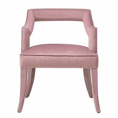 Amabilia Armchair Upholstery: Pink