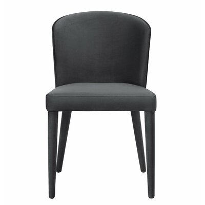Almanzar Side Chair Upholstery: Gray