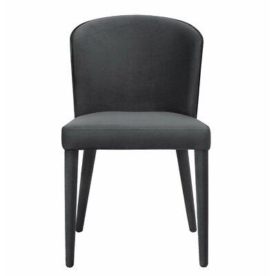 Almanzar Side Chair Upholstery: Gray