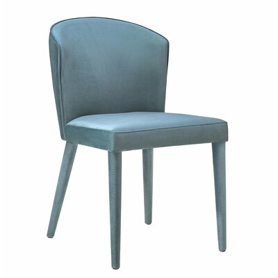 Almanzar Side Chair Upholstery: Sea Blue
