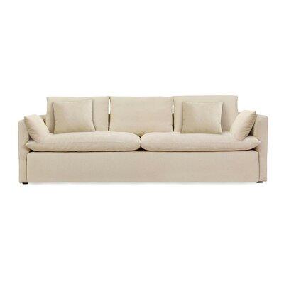 Jimi Sofa Upholstery: Oatmeal linen