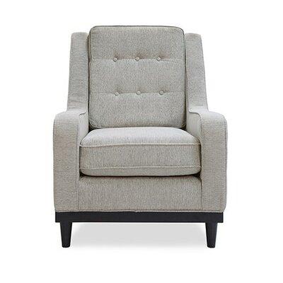 Crain Armchair Upholstery: Light Gray