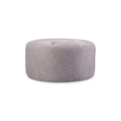 Crain Cocktail Ottoman Upholstery: Light Gray
