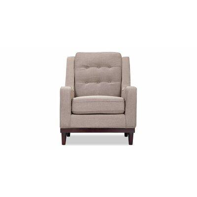 Crain Armchair Upholstery: Sand Linen