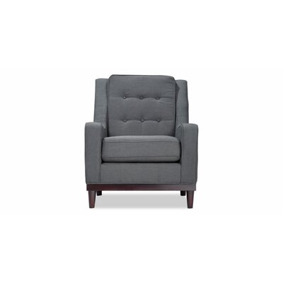 Crain Armchair Upholstery: Charcoal Blue