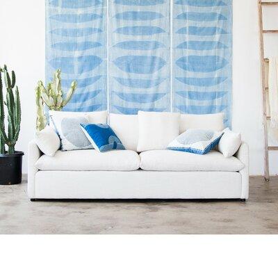 Jimi Sofa Upholstery: White Linen