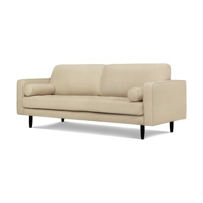 Crain Sofa Upholstery: Oatmeal Linen