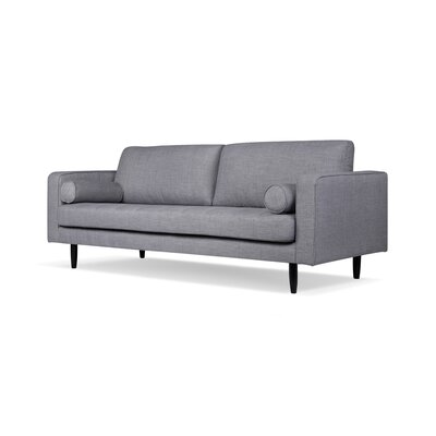 Crain Sofa Upholstery: Gray Tweed