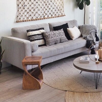 Freeman Sofa Upholstery: Light Gray