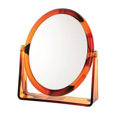 Tortoise 7x Oval Vanity Mirror