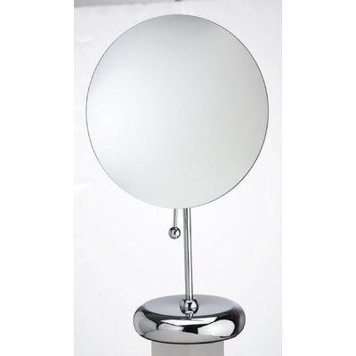 Rimless Multi-Purpose Magnetic Round Mirror D132