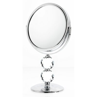 Double Crystal Makeup/Shaving Mirror D859