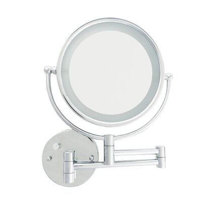 LED Wall Mount Makeup/Shaving Mirror D158