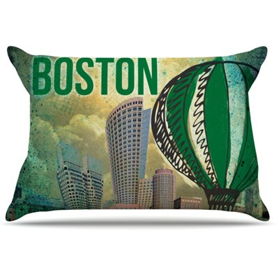 Boston Pillowcase Size: King