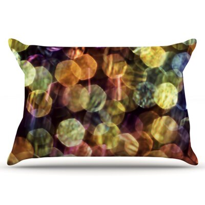 Warm Sparkle Pillowcase Size: King